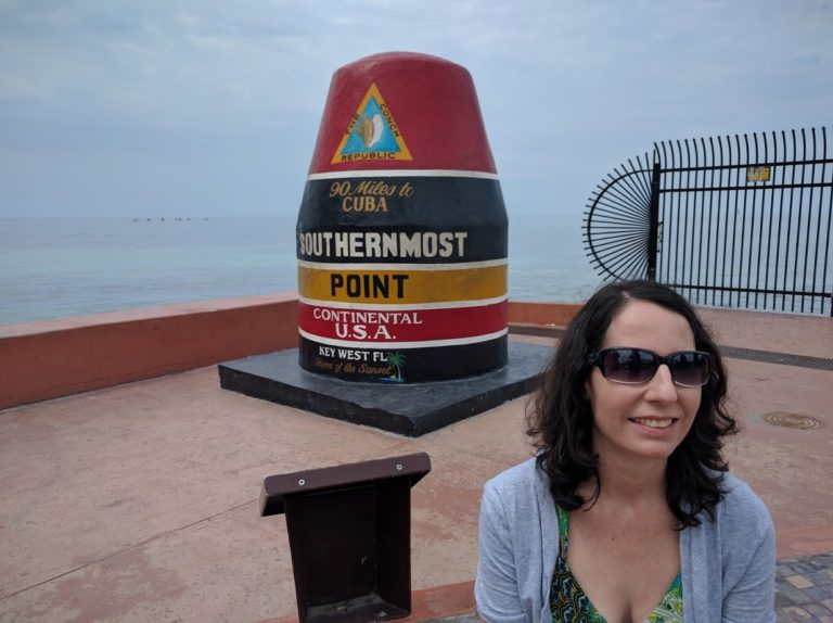 Southernmost buoy Key West