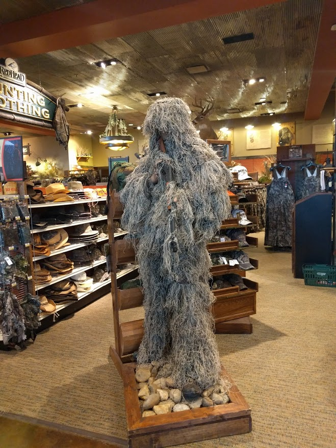 Bass Pro Creepy Hunting Gear