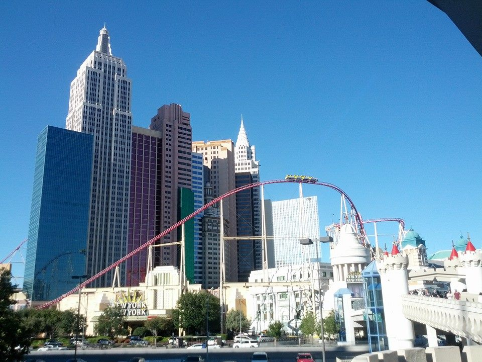 Rollercoaster Las Vegas