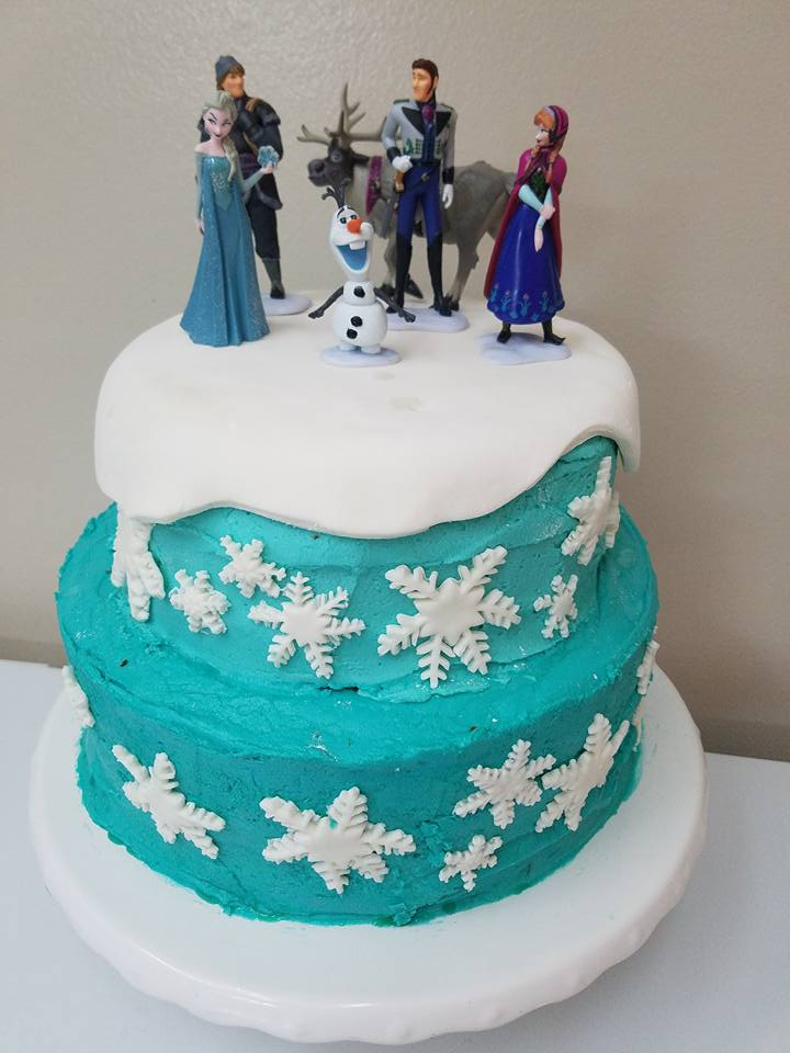 Inspirational frozen cake