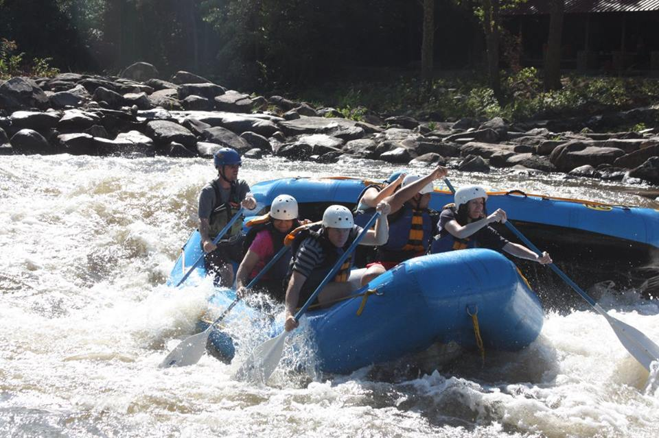 whitewater rafting upper Ocoee