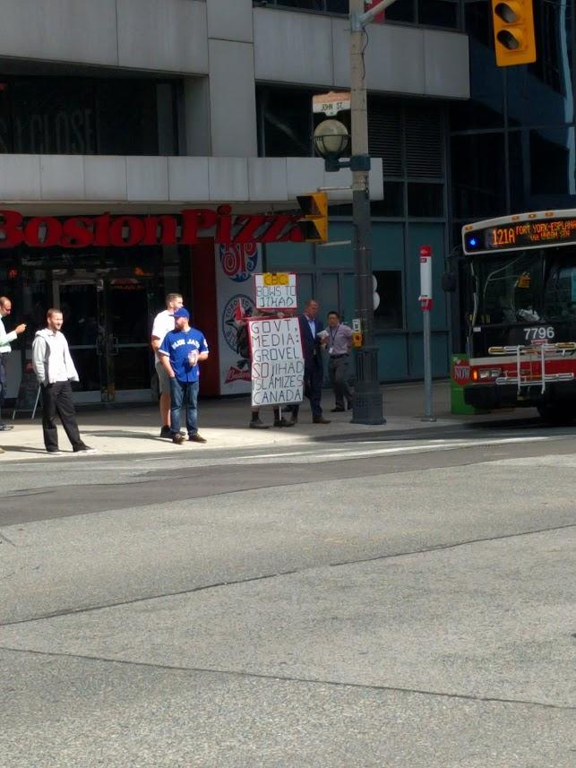 protester, Toronto