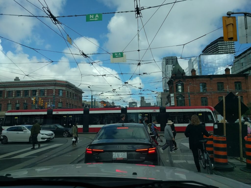 Toronto intersection