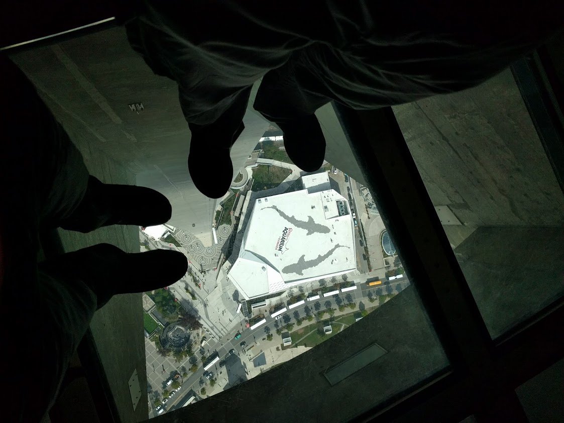 CN Tower Glass Floor, Toronto